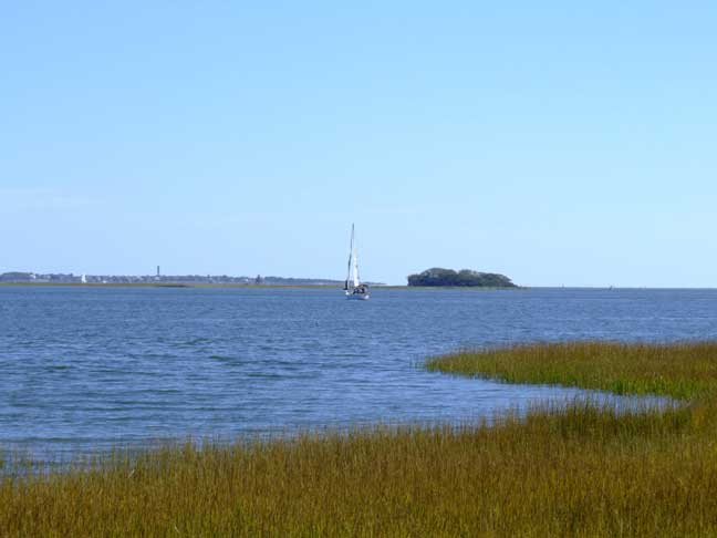Sailing the CHarleston HArbour to Fort Sumter