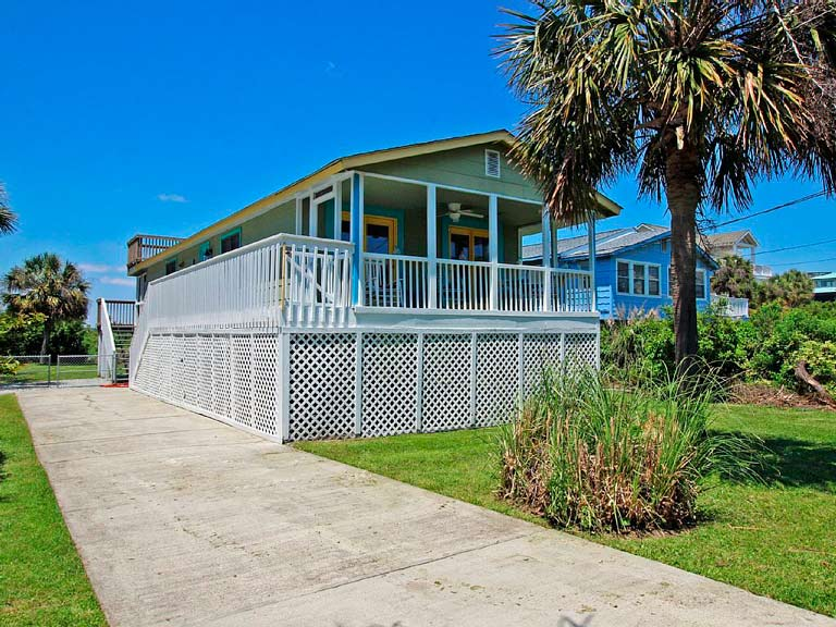 pet dog friendly folly beach house rental